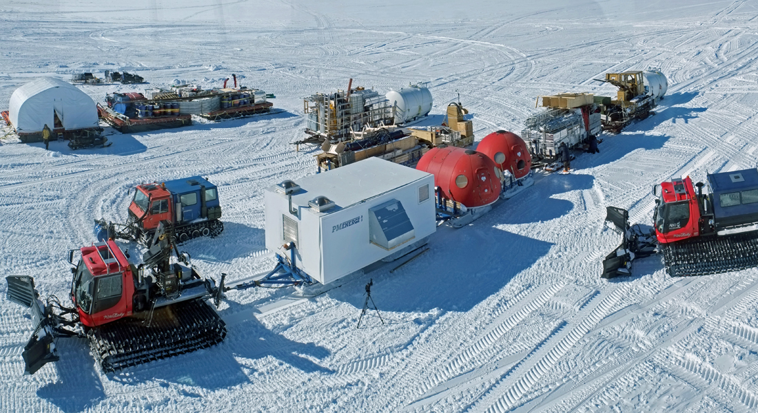 The East Greenland Ice-core Project - EastGRIP.
